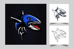 barracuda artwork illustration vector