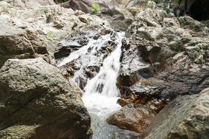 Small stream among the rocks