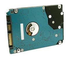 Blue hard drive photo