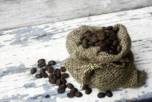 Coffee in sack