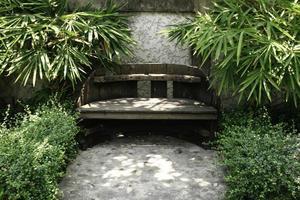 Step in garden