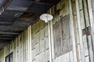 Outdoor light on building photo