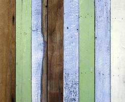 fondo de madera multicolor foto