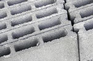 bloques de cemento de hormigón