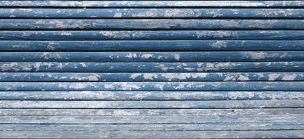 Rustic blue wood photo