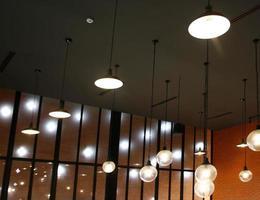 luces en el techo foto
