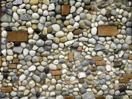 pared de roca natural foto