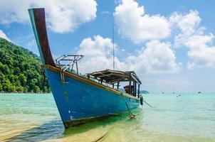 Surin Island boat in Thailand photo