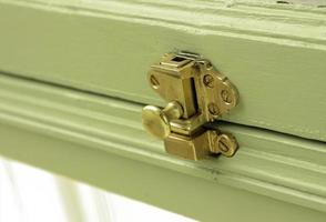 Brass metal lock