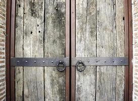 Old rustic doors