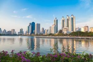 Skyscrapers in Bangkok photo