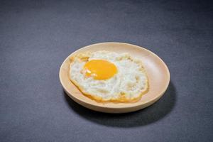 huevo en plato