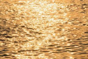 la luz del sol se refleja en el río