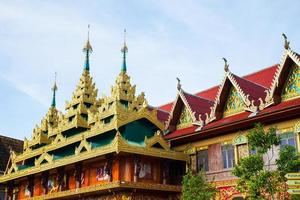 Temple in Thailand photo