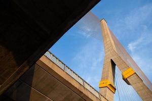 Rama VIII bridge in Bangkok