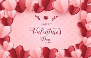 banner de feliz día de san valentín, fondo del día de san valentín