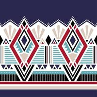 Geometric ethnic oriental seamless pattern traditional. vector