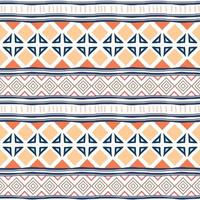 Geometric ethnic oriental seamless pattern traditional. Colorful stripes ornaments, for wrapping and textile print. vector