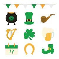 Saint Patrick's day elements vector