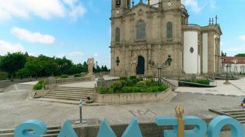 Santuario de sameiro en braga, portugal