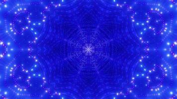 pontos abstratos efeitos visuais ilustração 3d dj visual