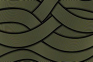 Abstract dynamic wavy line colorful background vector
