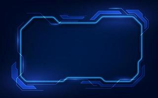 abstract hud ui gui future futuristic screen system virtual design vector