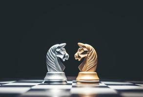 Chess is an strategy and intelligence board game photo