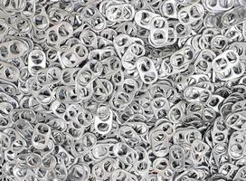 Group of can tabs