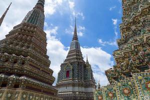 Gran pagoda de Wat Pho en Bangkok