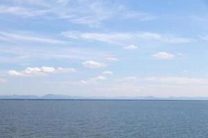 Lake and sky photo