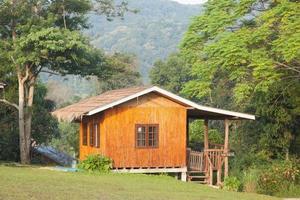casa en la colina en tailandia