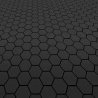 panal de textura de celda hexagonal foto