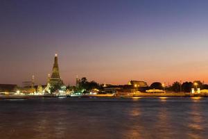 Wat Arun temple in Thailand photo