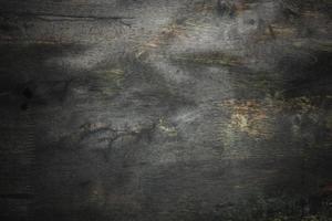 Fondo de pared de textura de madera vieja oscura y grunge