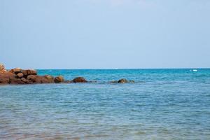 rocas en el mar foto