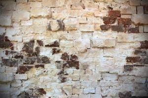 fondo de pared de ladrillo foto