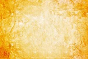 Fondo naranja de pared y sala de exposición para producto de presentación. foto