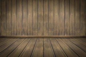 Fondo de pared de textura de madera, estudio y habitación foto