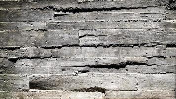 antiguo muro exterior de hormigón