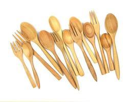 Bunch of wooden utensils