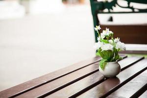 flores en florero