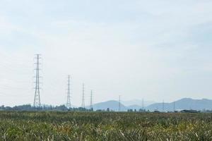 postes de alto voltaje