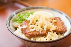 Ramen noodle in a bowl