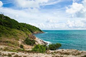 costa de koh samet en tailandia foto
