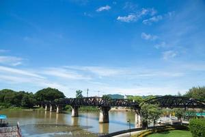 Bridge on the River Kwai in Thailand