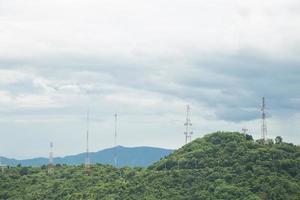 Communication signal towers