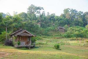 House in the countryside in Thailand