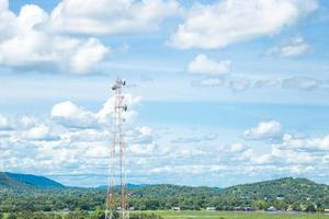 sistema de antena telefonica foto