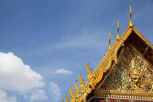 Roof of a Thai temple